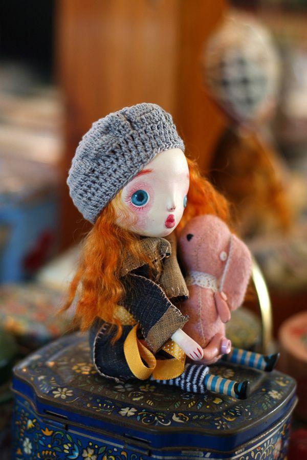 Dolls by Ellen Harris - great paperclay doll tutorial.