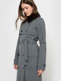 Grey ladies raincoat from La Redoute