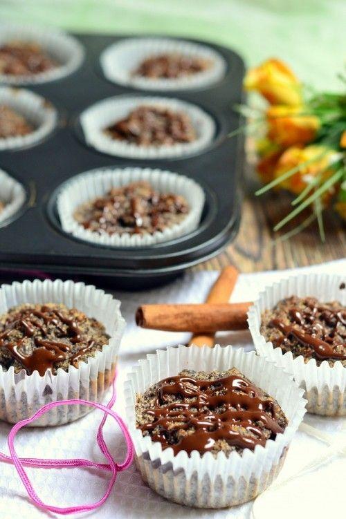 Mákos-szilvalekváros muffin