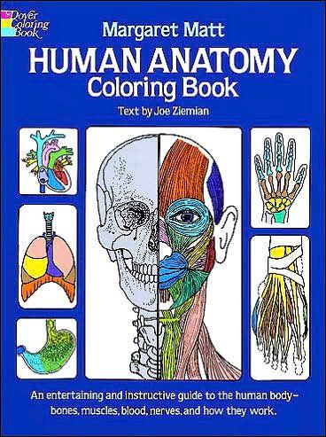 Human Anatomy Coloring Book Products Pinterest Human Anatomy