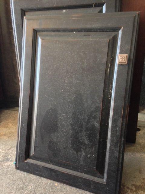 repurposed kitchen cabinet door