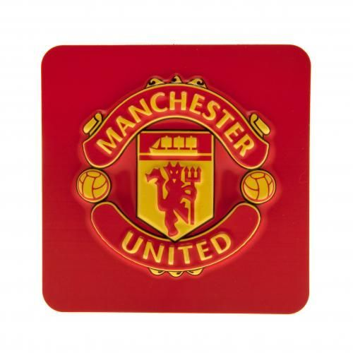 3D Manchester United fridge magnet in club colours and featuring the iconic club crest. FREE DELIVERY on all of our gifts