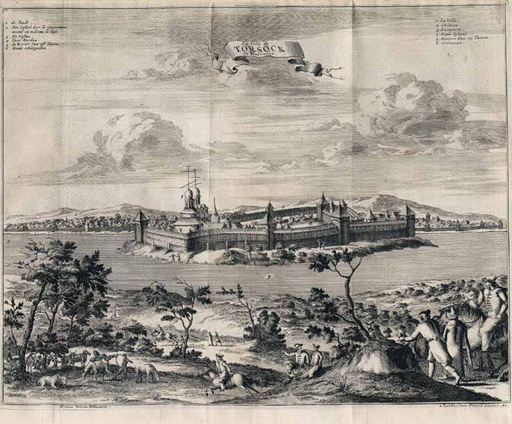 Город Торжок в 1885 г.: