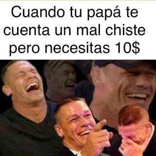 Papa y sus chistes