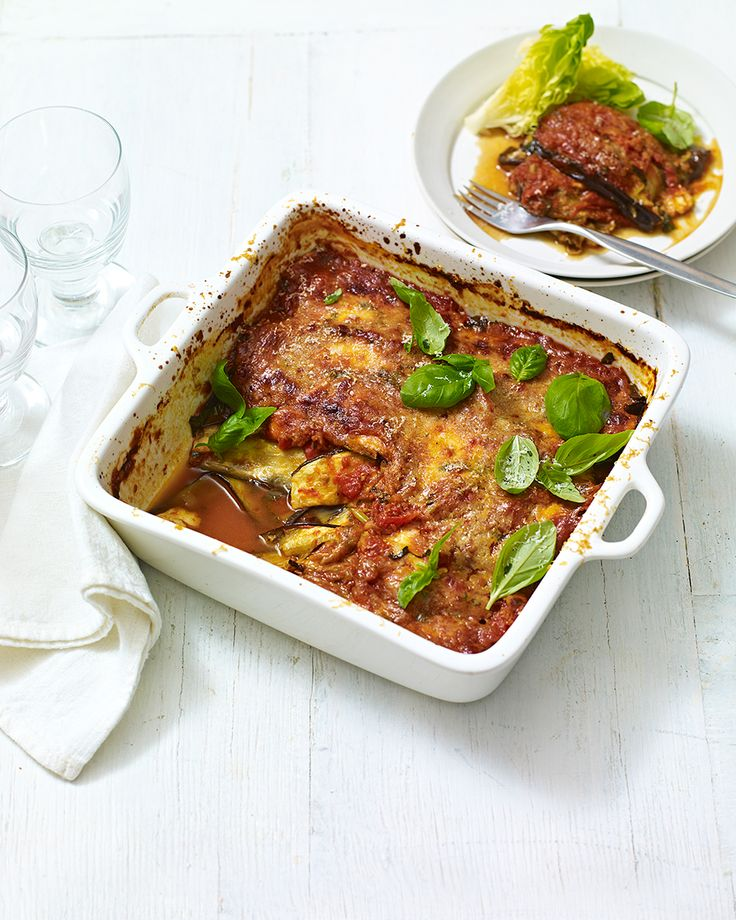 We've kept all the flavours from traditional aubergine parmigiana but recreated this Italian classic as a low-calorie midweek dinner.