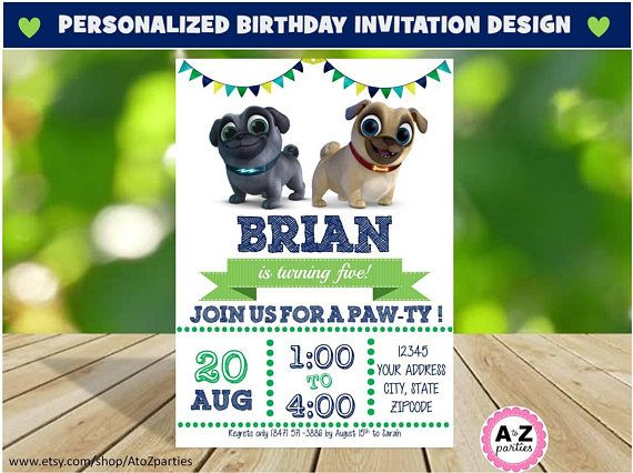Personalized Invitation: A custom invitation is a fun way and easy way to create an invitation for your little ones party. This is a digital file that will be sent to you via etsy when it is completed. Allow for up to 48 hours for completion. Please send the following information for your