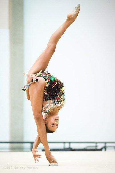 Alexandra Soldatova, Russian Rhythmic Gymnast