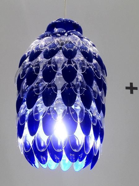 25 best ideas about plastic spoon crafts on pinterest for Plastic spoon lamp video