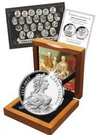 Ražba dne - 300. výročí narození Marie Terezie - Národní Pokladnice - přední evropský prodejce mincí a medailí