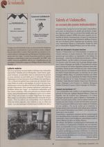 La Lettre du Musicien n°411 - 9 Déc 2013 - Anaïs Gassin 1/2