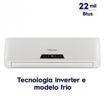 Ar Condicionado Split Inverter 22.000 Btus Frio (BI22F/BE22F) - Electrolux