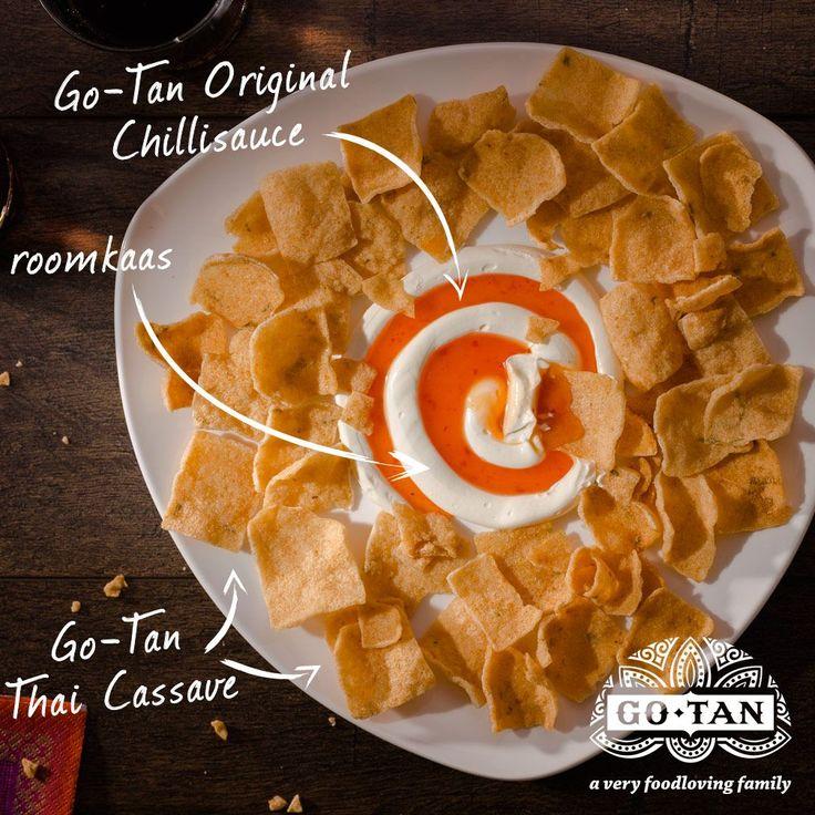 Chillisaus en roomkaas dip recept heerlijk bij bijvoorbeeld casave