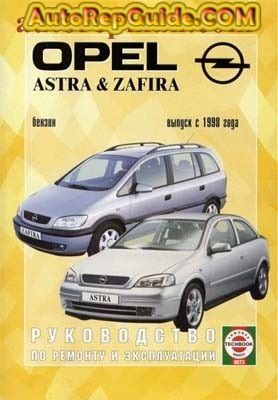 Download free - Opel Astra, Opel Zafira (1998+) repair manual: Image:… by autorepguide.com