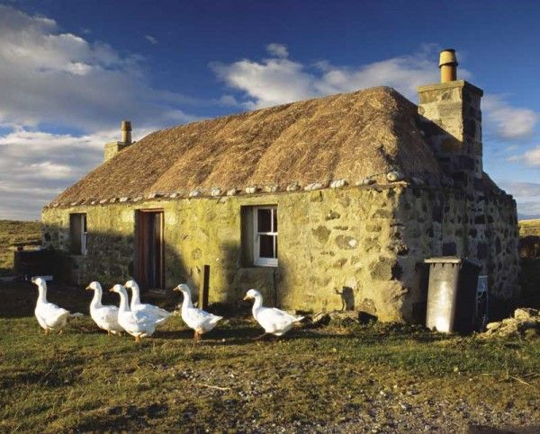 Highland Stone Cottage. Scotland.