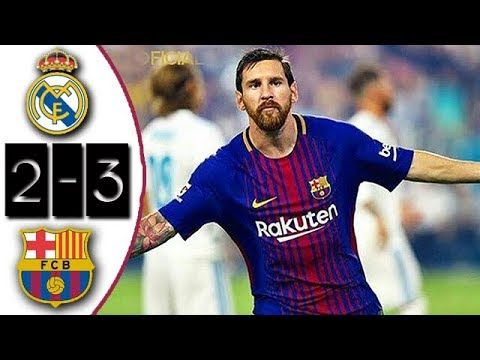 Real Madrid vs Barcelona 2-3 Resumen Goles Highlights Goals Amistoso 2017 - VER VÍDEO -> http://quehubocolombia.com/real-madrid-vs-barcelona-2-3-resumen-goles-highlights-goals-amistoso-2017    Créditos de vídeo a Popular on YouTube – Colombia YouTube channel