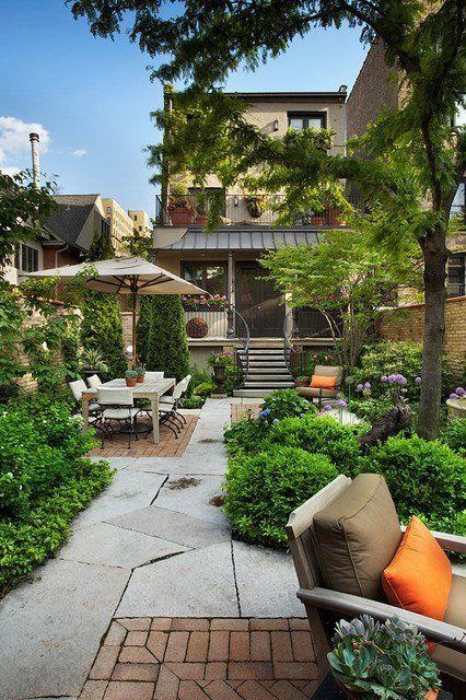 18 Great Design Ideas For Small City Backyards Contemporary Garden
