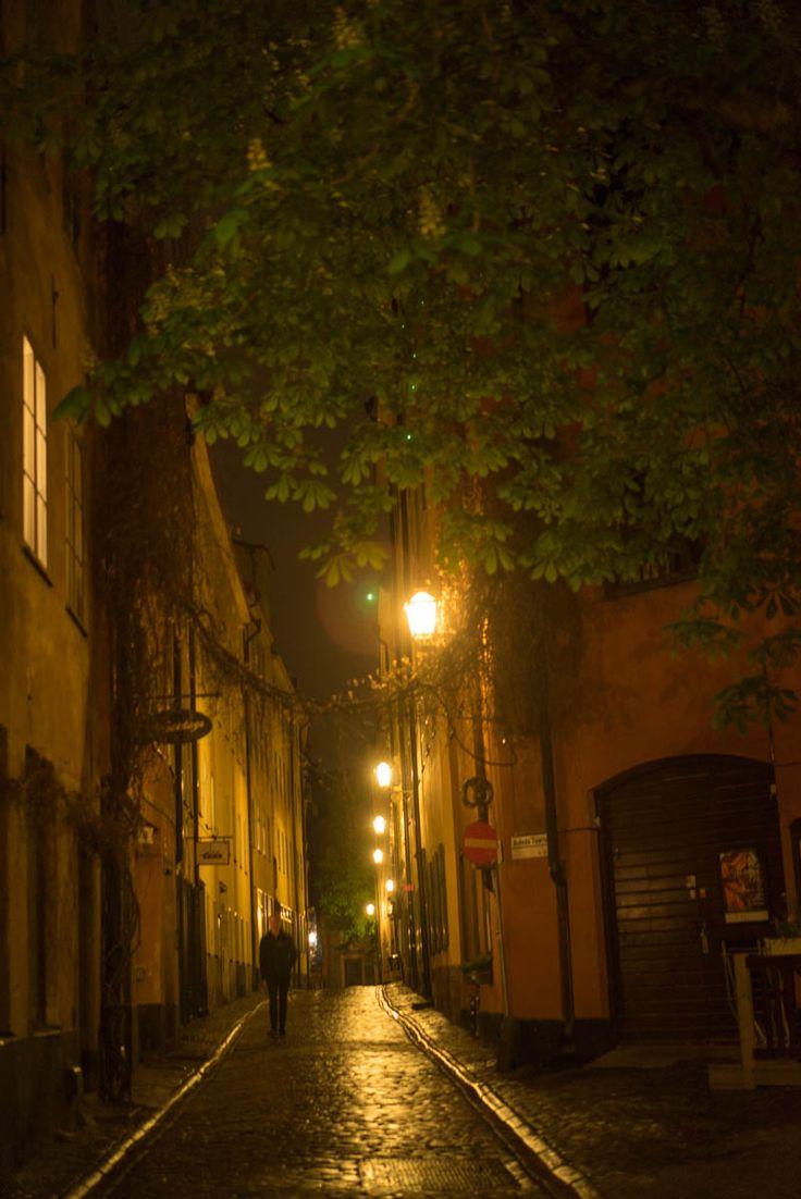 Gamla Stan by night 3
