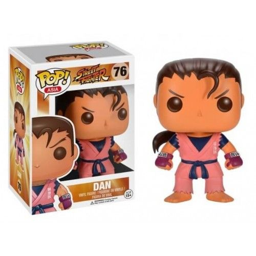 Funko Dan (First to Market), Street Fighter, Pop! Asia, SF, Games, Funkomania