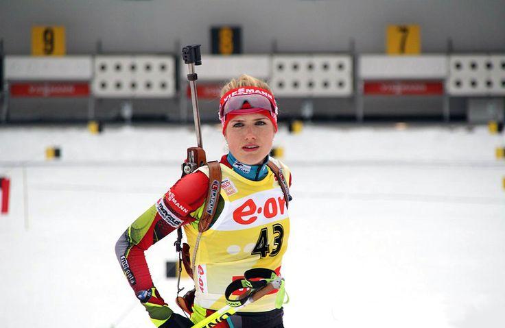 Biathlon-Sportlerinnen : Photo