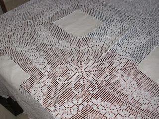 Agulha Mágica - Magic Needle: Toalha de mesa - Table cloth
