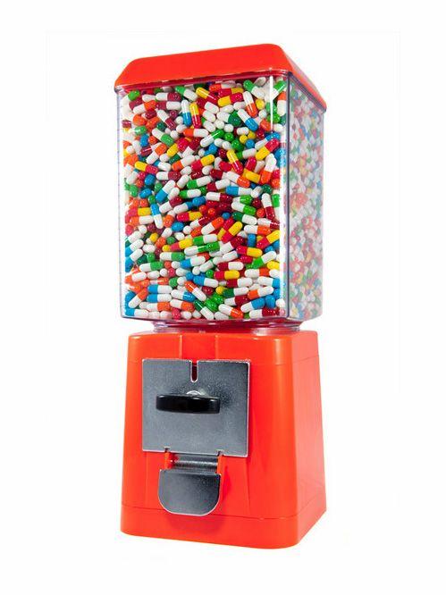 : Vending Machine, Pill Machine, Stuff, Art, Gumball Machines, Random, Happy Pills Ian Stevenson