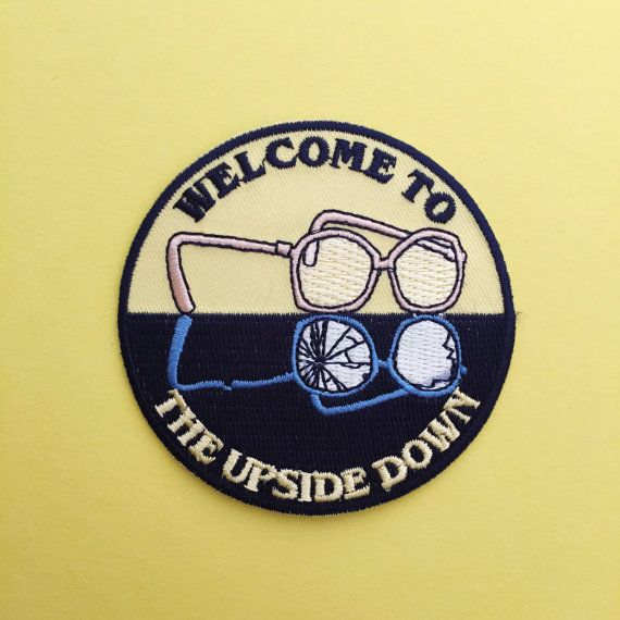 Welcome To The Upside Down Stranger Things Patch by fairycakes
