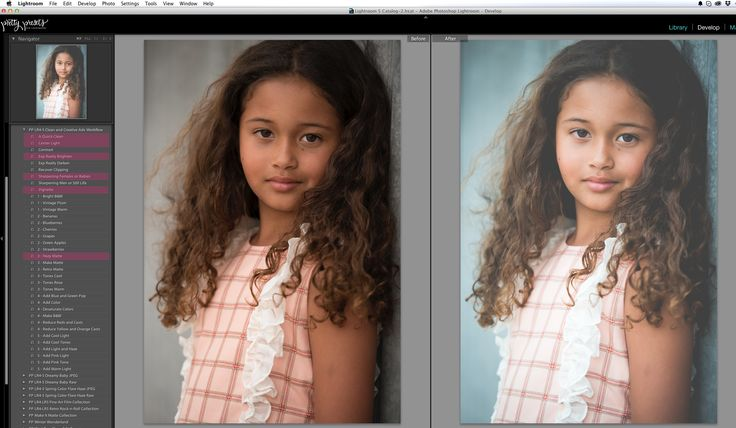 Editing photos in Lightroom using presets saves me so much time!  I can't imagine editing photos without them.  That being said, the workflow is a little differ