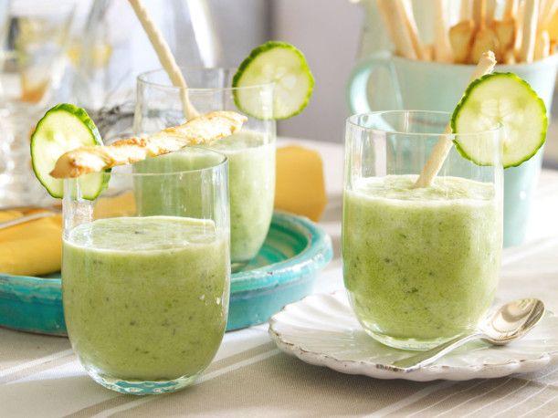 Unser beliebtes Rezept für Kalte Express-Gurkensuppe und mehr als 55.000 weitere kostenlose Rezepte auf LECKER.de.