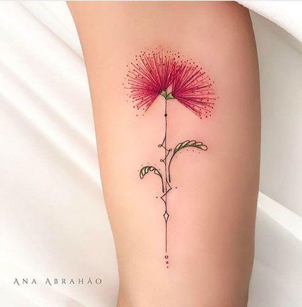 30 Stunning Colourful Flowers Tattoo Ideas Tinta Para Tatuagem Tatuagens Brancas Tatuagem Coracao Com Nome