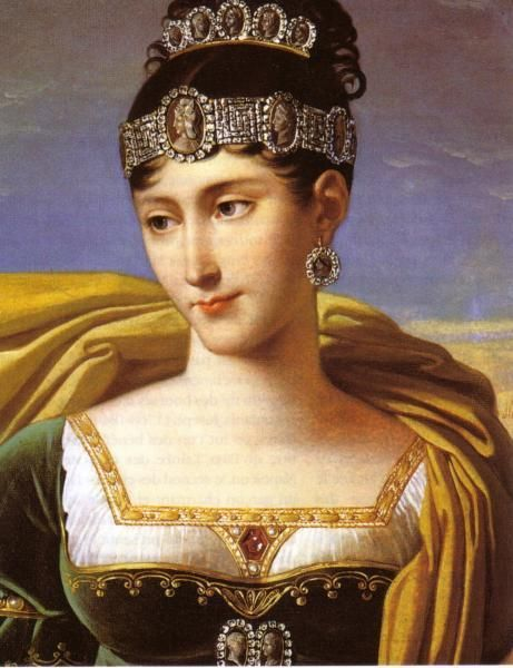 Pauline Bonaparte (Napoleon's Sister) was told by Napoleon to marry Prince Camillo Borghese after her first husband died, thus making her Duchess of Guastalla. She was very close to Napoleon. When the French Empire fell she went to live in Italy