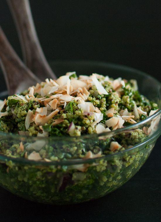 Kale Salad With A Tropical Twist Recipes — Dishmaps