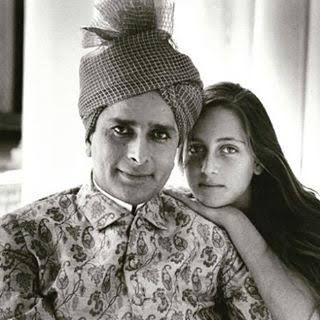 Shashi Kapoor with his daughter Sanjana Kapoor