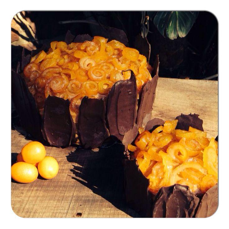 Chacolate orange cake