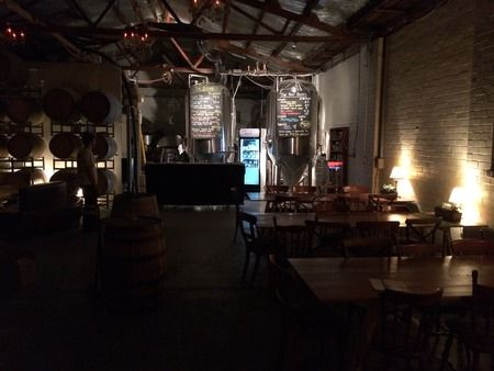 Moon Dog Bar. Melbourne's most experimental brewery gets an on-site bar in Abbotsford.