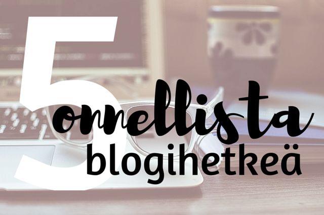 blogi, bloggaaminen, blogiohjeet, #listahaaste, Kivempi blogi