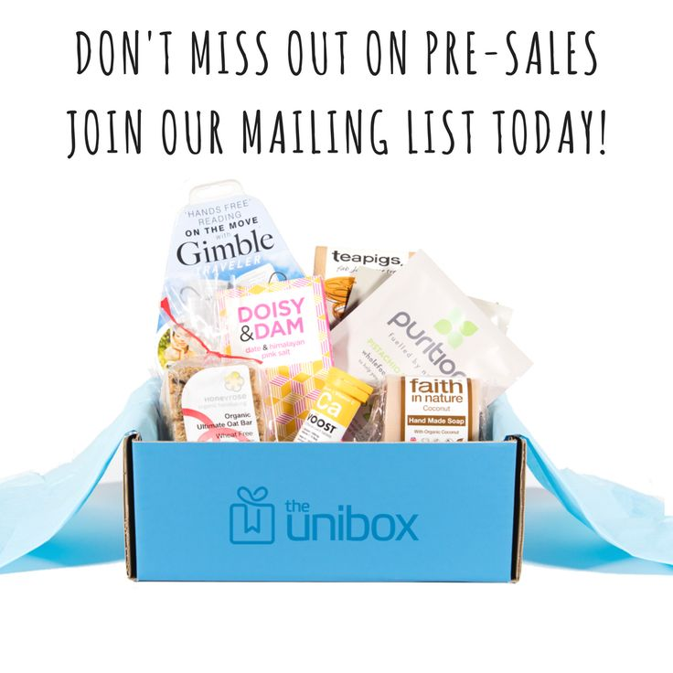 The Unibox – Subscription care package for university students. Join our mailing list for a chance to win a FREE box.