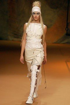 Jean Paul Gaultier Spring 2003 Ready-to-Wear Fashion Show Collection