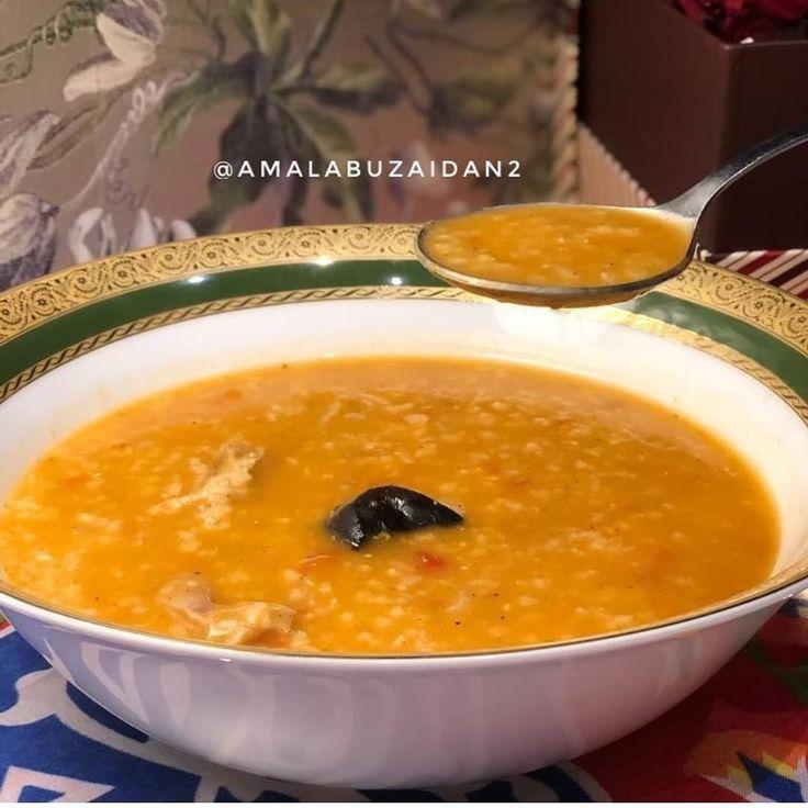موسوعه الشوربات اللذيذه On Instagram Amalabuzaidan2 Amalabuzaidan2 شوربة ح ب سهله ولذييييذه في قدر الضغط نضع Soup Recipes Recipes Food