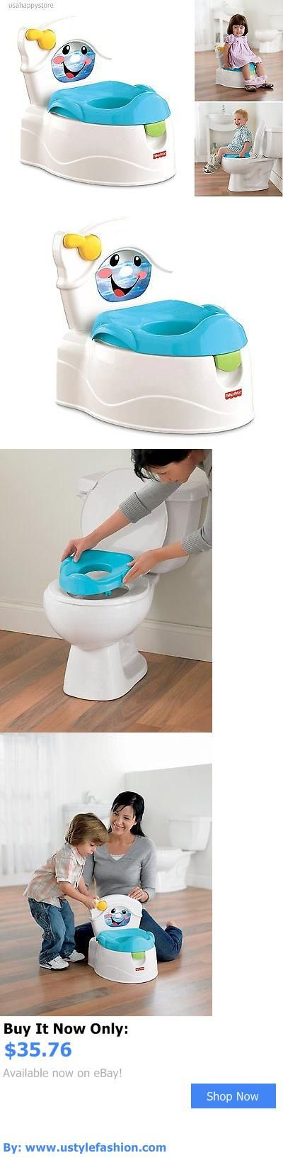 Potty Training: Fisher Price Potty Training Chair Kids Toddler Toilet Seat Pretend Bathroom Baby BUY IT NOW ONLY: $35.76 #ustylefashionPottyTraining OR #ustylefashion