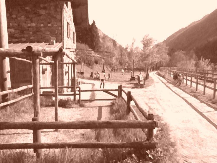 Val Brembana - Fence -- Val Brembana - Staccionata