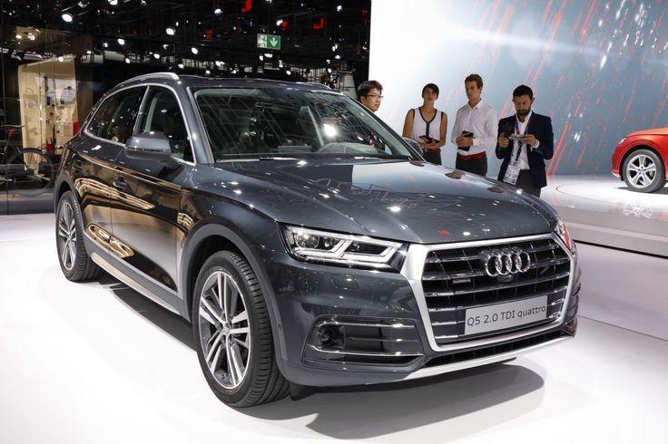 Audi Q5 2017 TDI quattro au Mondial de l'automobile 2016