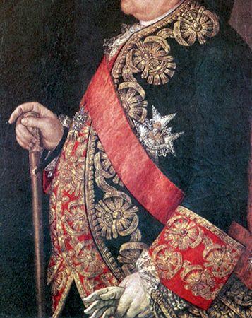 Regent Paunch! The Earl Bernardo Tanucci, Regent of the Kingdom of Naples, painted around 1760.
