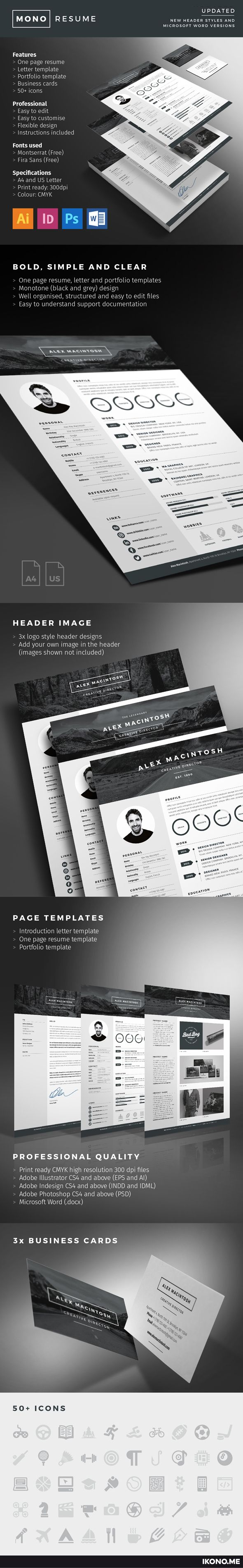 67 best Resume Templates images on Pinterest | Resume templates ...
