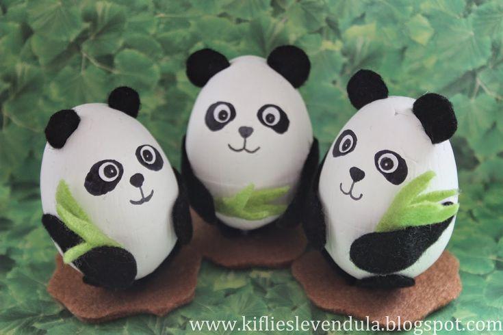 Kifli és levendula: Pandamacik tojásból