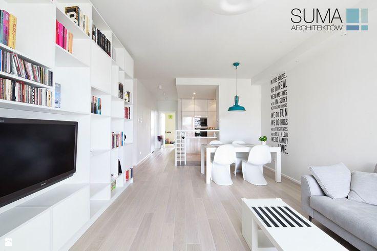MODERN ONE - REALIZACJA - SUMA Architektów - zdjęcie od SUMA Architektów - Salon - Styl Minimalistyczny - SUMA Architektów