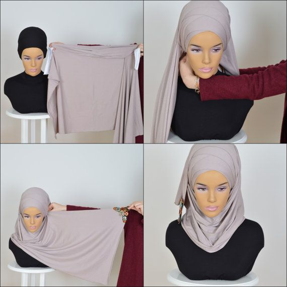Cotton Express Hijab Code: CPS-0034  Muslim Women by HAZIRTURBAN