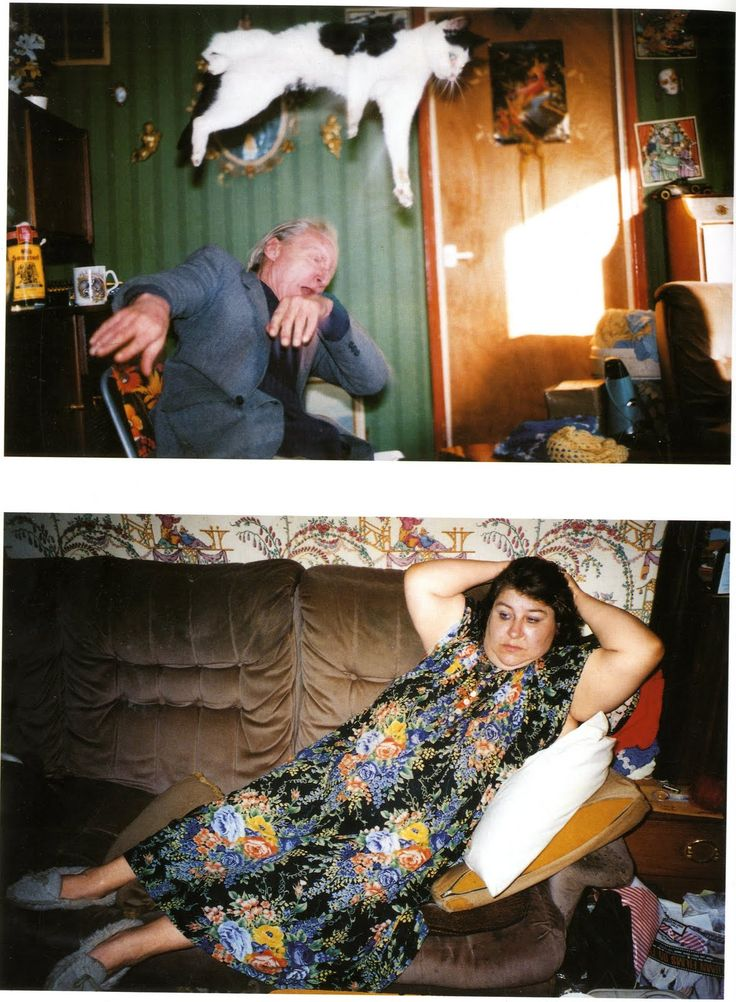 "By Richard Billingham, from his work; ""Ray's a laugh""  ©Richard Billingham"