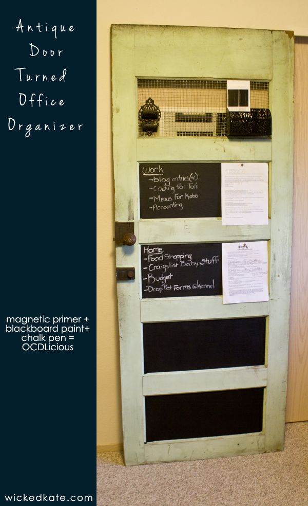 Antigue Door Chalkboard : Best images about chalk boards and lettering on
