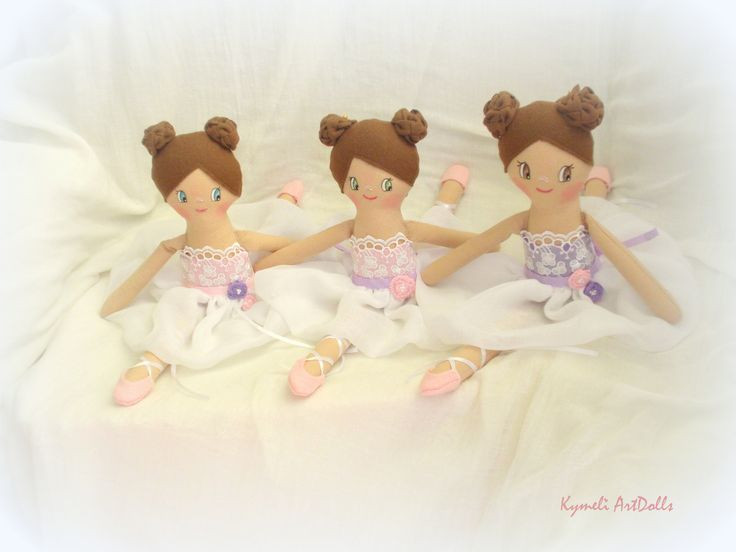Mini dolls for play - 30cm  by Kymeli ...
