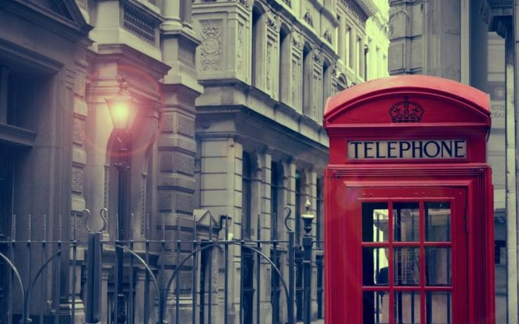 Free HD Wallpapers for your computer: London Vintage phone booth